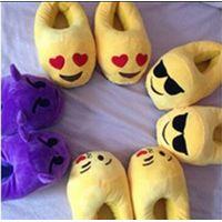 Emoji slippers indoor shoes