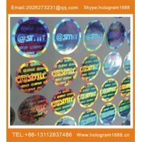 Customized Label Hologram Sticker