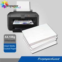 108g A4 matte photo paper