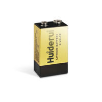 Huiderui Lithium Battery 9.0V 1200mAh CP9V for smoke alarm