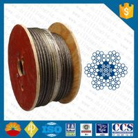 Bomco EIPS 6x21 wire rope for drilling rig
