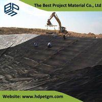 Ge Membrane High Polymer Polyethylene Waterproofing Membrane Landfill Liners
