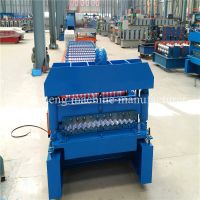 Easy Operate Corrugated Roll Forming Machine / Corrugated Roofing Sheet Making Machine thumbnail image
