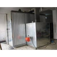 cure oven with oil / electricity / gas