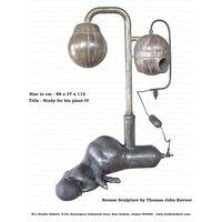 Study For Bio Plant IV Bronze sculpture By Thomas John Kovoor thumbnail image
