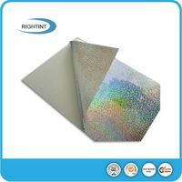 PVC self adhesive holographic film
