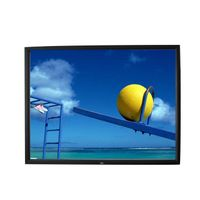 Fixed Frame Screen with High Contrast Theatre Fabric
