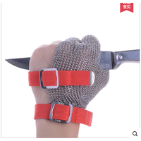 Three finger anti cutting kitchen cut hand safe glove CE approved