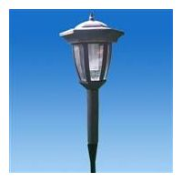 Garden Stainless Steel Small Bread Top Solar Light thumbnail image
