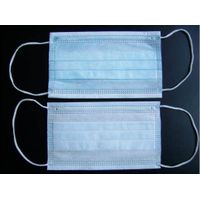 JS2-M2 nonwoven disposable face mask have 3-ply,best quality
