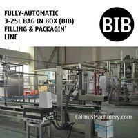 Fully-automatic 3-25L Bag in Box Filling Machine BIB Packaging Line