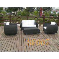 Outdoor wicker sofa SBN026
