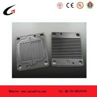 graphite bipolar plate for fuel cell thumbnail image
