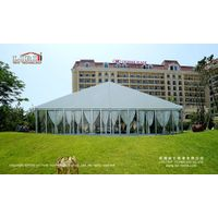 1000 People Luxury Wedding Marquee with Glass Wall for Outdoor Parties