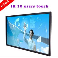 75'' interactive flat panel with 2k/4k resolution display
