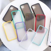 Matte PC and Shock-resistant TPU Edges Protective Phone Accessory Phone Case For iPhone 11 Pro Max thumbnail image