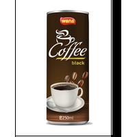 Wana Black Coffee in 250ml Can