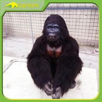 KANO0573 Amusement Park High Quality Animatronic Gorilla Costume