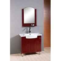 Solid wood bathroom furniture (XD-7033) thumbnail image