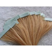 tape hair extensions (machine made weft)