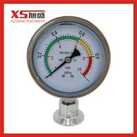 0-10 Bar Stainless Steel Pressure Gauge for Valve Orthers Product thumbnail image