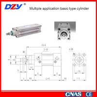 EC Series Multiple Application Basic Type Cylinder
