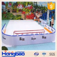 uhmwpe synthetic ice rinks with variety models and BV certificate, punctual delivery