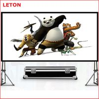 hot selling Fast fold portable projector screen thumbnail image