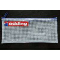 promotional PVC mesh pencil pouch