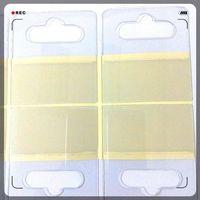 self-adhesie hang tabs, Euro hooks, PVC adhesive box sticker thumbnail image