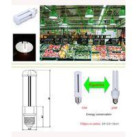 LED bulb U shape , 10w