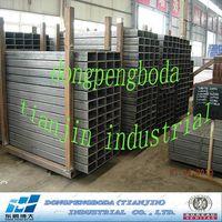 Greenhouse used JIS SS400 SHS carbon steel pipe price per ton thumbnail image