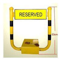 Remote control car parking lock/barrier