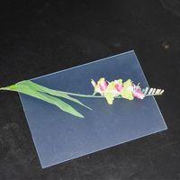 1.5mm Thick PVC Rigid Transparent Plastic Sheet For Laser Cutting thumbnail image