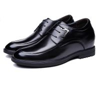New 2018 Mens Shoes Casual Leather Shoes Height Increasing Shoes With Getting 10cm/12cm Taller