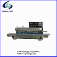 FRM-980AI Semi automatic sealer small bag sealing machine with R T type ink printing wheel thumbnail image