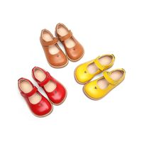Girls School Uniform Dress Size 23-30 Mary Jane Flats Shoes For Baby thumbnail image