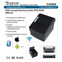 3 inch 80mm POS thermal printer for receipt printing