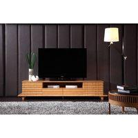 Unique design bamboo TV cabinet