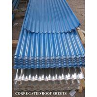850mm width fireproof corrugated steel sheet roof sheet waterproof