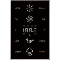 LED touch pad for sauna room control steam sauna
