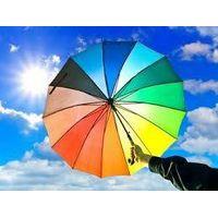 Standard size umbrella umbrella manufacturer china solar charger umbrella