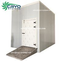 frozen ice cream storage cold room , walkin freezer , pvc curtain cold room thumbnail image