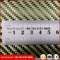 carbon kevlar fiber fabric