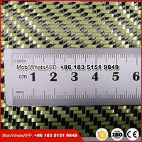 carbon kevlar fiber fabric