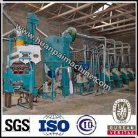 Good quality Huanpai 80 tpd maize flour machine for sale