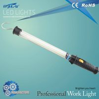 portable fluorescent work light