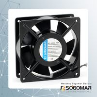 axial fan/ ventilation 120x120x38mm with plastic blades