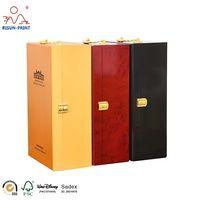 Elegant Gift Packaging Wood Wine Box For double Bottle thumbnail image