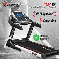 PowerMax Fitness TDA-125® Motorised Treadmill with Auto Lubrication